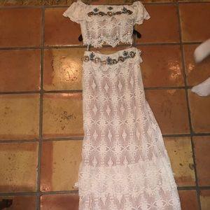 SHERRI HILL 2 Piece Dress Size 2 NBW